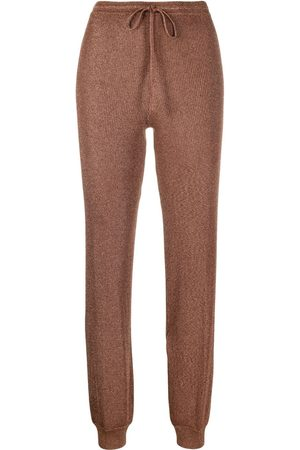 Missoni Metallic knitted joggers