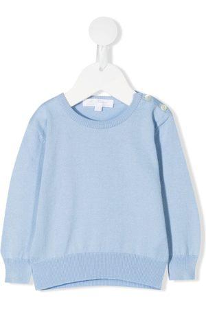 Mariella Ferrari Knitted cotton sweater