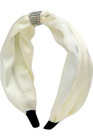 YouBella White Embellished Hairband