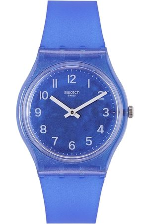 Swatch Unisex Blue Analogue Shock Resistant Watch GL124