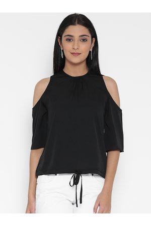 Sera Women Black Solid Top