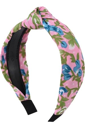 BuckleUp Women Pink Floral Printed Hairband