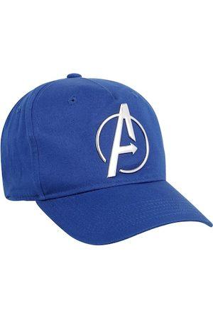 Free Authority Men Blue Avengers Printed Baseball Cap