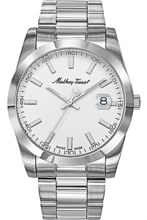 Mathey-Tissot Swiss Made Men Rolly I White Dial Watch H450AI