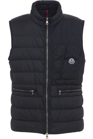 Moncler Men Body Warmers - Capy Nylon Down Vest