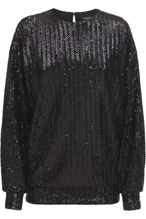 Isabel Marant Women Tops - Olivia Sequined Top