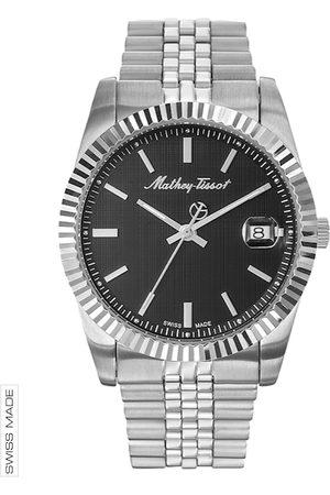 Mathey-Tissot Swiss Made Men Rolly III Black Dial Watch H810AN