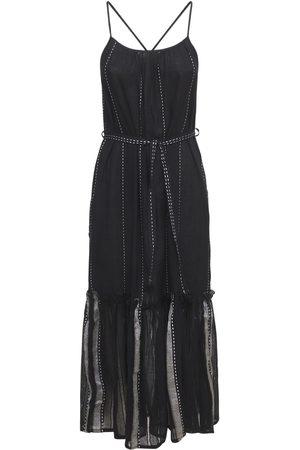 Lemlem Women Midi Dresses - Tikuri Stiped Cotton Midi Sundress