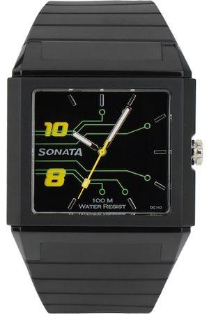 Sonata Men Black Dial Ocean Series Men Analogue Watch ND7988PP01J