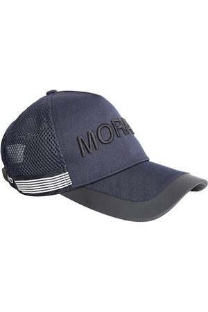 Antony Morato Men Blue & Black Embroidered Baseball Cap