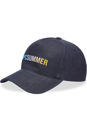 A.P.C. Men Caps - A.P.C Summer Logo Denim Cap