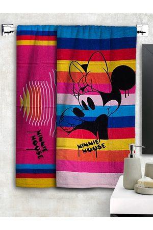 Disney Set Of 2 Printed 300 GSM Bath Towels