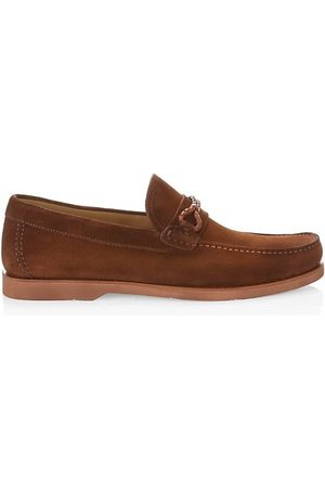 Saks Fifth Avenue Men Loafers - COLLECTION Suede Boat Shoes