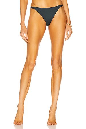 ASCENO The Biarritz Bikini Bottom in Slate