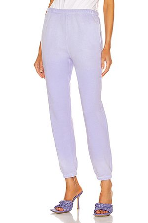 RE/DONE Women Sports Trousers - 80's Sweatpant in Faded Orchid