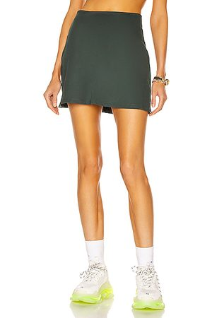 GIRLFRIEND COLLECTIVE Women Shorts - High Rise Skort in Moss