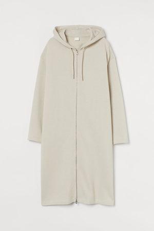 H&M Long zip-through hoodie