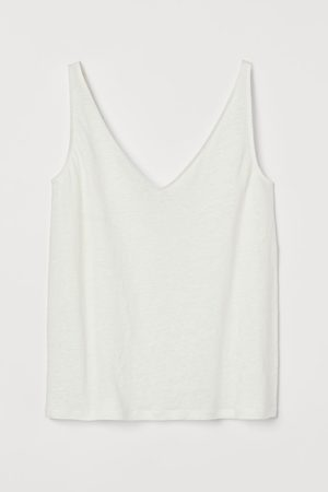 H&M Linen vest top