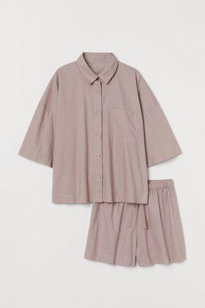 H&M Linen-blend pyjamas