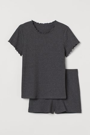 H&M Women Pyjamas - Pyjama T-shirt and shorts