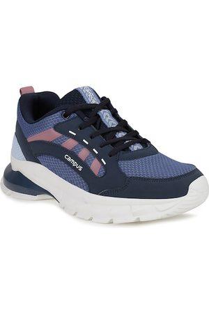 Campus Women Navy Blue Mesh Running Shoes