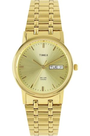 Timex Men Gold-Toned Analogue Watch A504