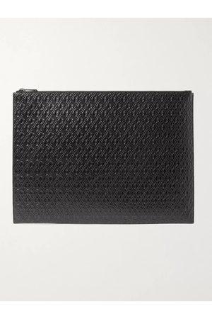 Saint Laurent Men Wallets - Logo-Debossed Leather Pouch