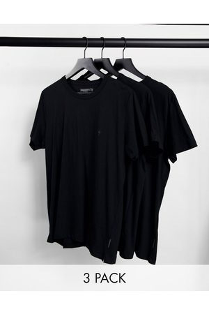 French Connection 3 pack lounge t-shirt in
