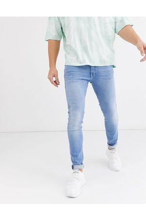 Jack & Jones Intelligence Liam skinny fit stretch jeans in light