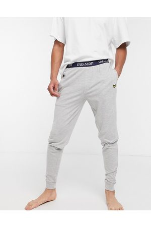 Lyle & Scott Men Loungewear - Cuffed lounge pants in