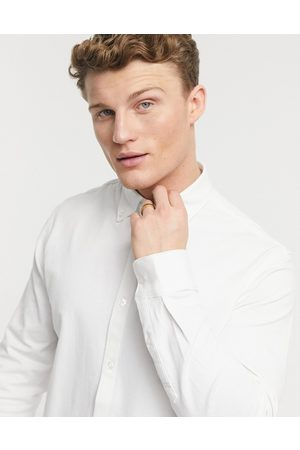 SELECTED Men Long Sleeve - Jersey shirt in white
