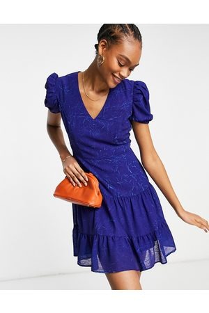 French Connection Calandra mini dress in