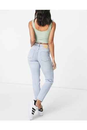 ONLY Erica straight leg jeans in light