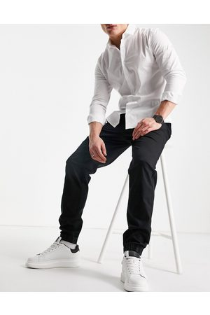 River Island Pull on cuffed chinos in