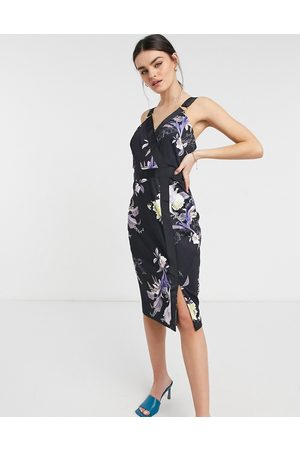 Ted Baker Camarie floral midi dress in
