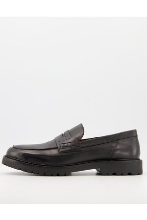 H by Hudson Brentwood seam chunky loafers in