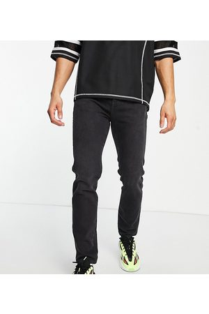COLLUSION Men Tapered - X003 tapered jeans in washed