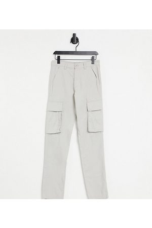 French Connection Tall slim fit cargo trousers in stone