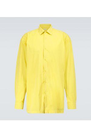 DRIES VAN NOTEN Men Long sleeves - Long-sleeved cotton shirt