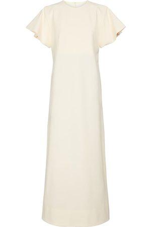 Jil Sander Stretch-crêpe maxi dress