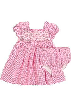 Ralph Lauren Baby Sets - Baby gingham dress and bloomers set