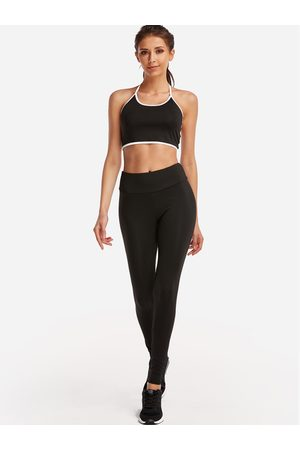 YOINS Active Cut Out Elastic Tracksuit in