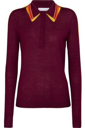 GABRIELA HEARST Manuel cashmere and silk polo shirt