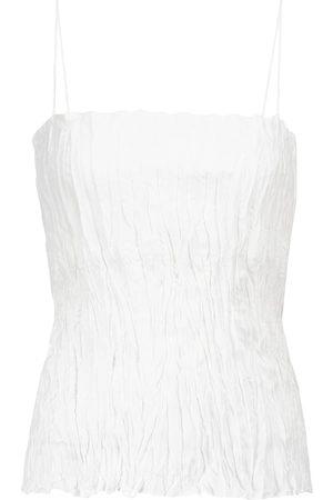 Totême Crinkled silk camisole