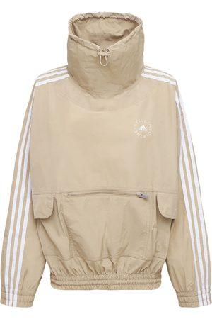 Stella McCartney Women Sweatshirts - Oversize Cotton & Tech Sweatshirt