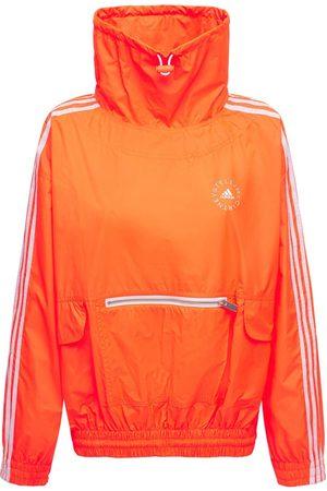 STELLA MCCARTNEY Oversize Cotton & Tech Sweatshirt