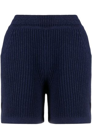 Barrie Women Shorts - Ribbed knitted shorts