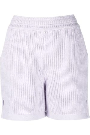 Barrie Ribbed knit shorts