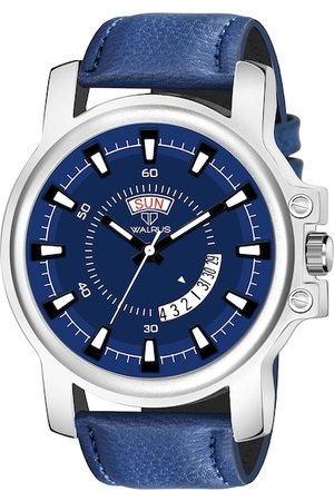 WALRUS Men Blue Analogue Watch