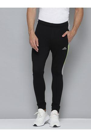 Alcis Men Black Solid Regular Fit Joggers
